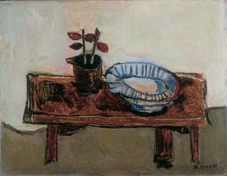 Interior, Table and Still Life
