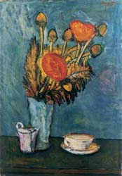 Vase of Flowers and Still Life